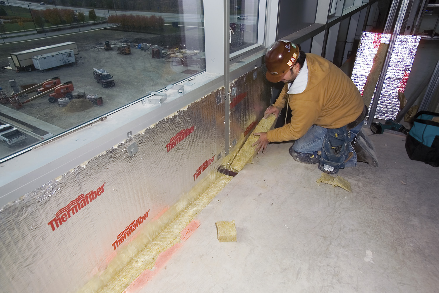 Commercial Insulation Thermafiber